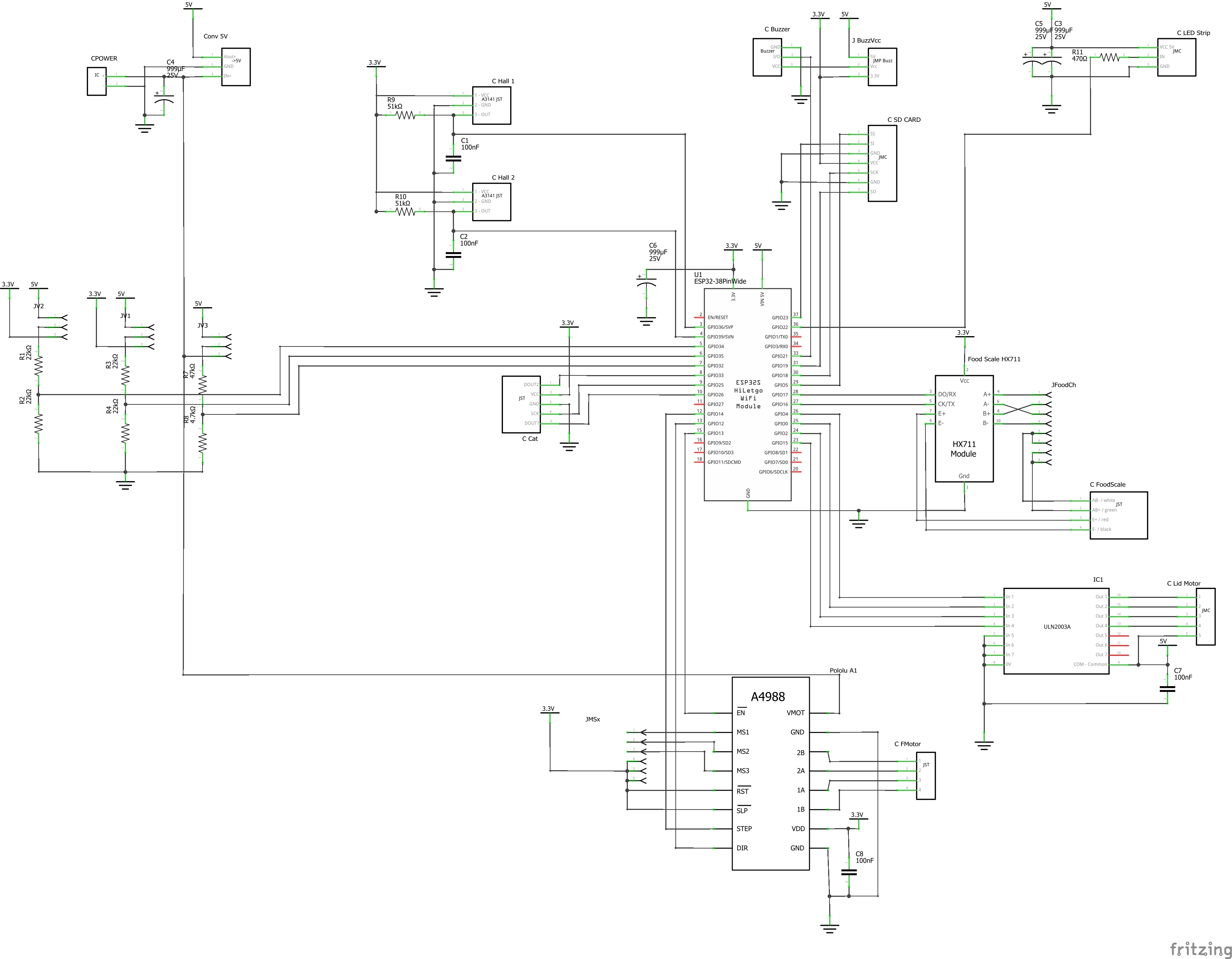 Schematic of the ultimate cloud cat feeder
